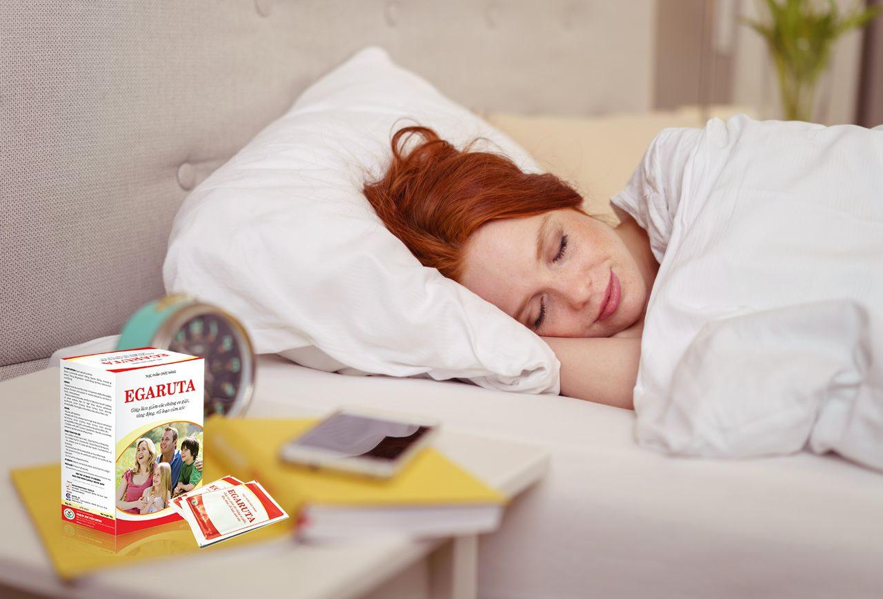 Cốm Egaruta giúp hỗ trợ điều trị rối loạn giấc ngủ hiệu quả